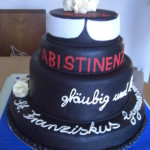 """Abiball-Torte """"Abistinenz"""""""