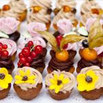 Mini-Cupcakes gemischt