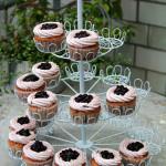 Etagere mit Gutenfreien Cupcakes