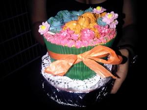 XXL Cupcake