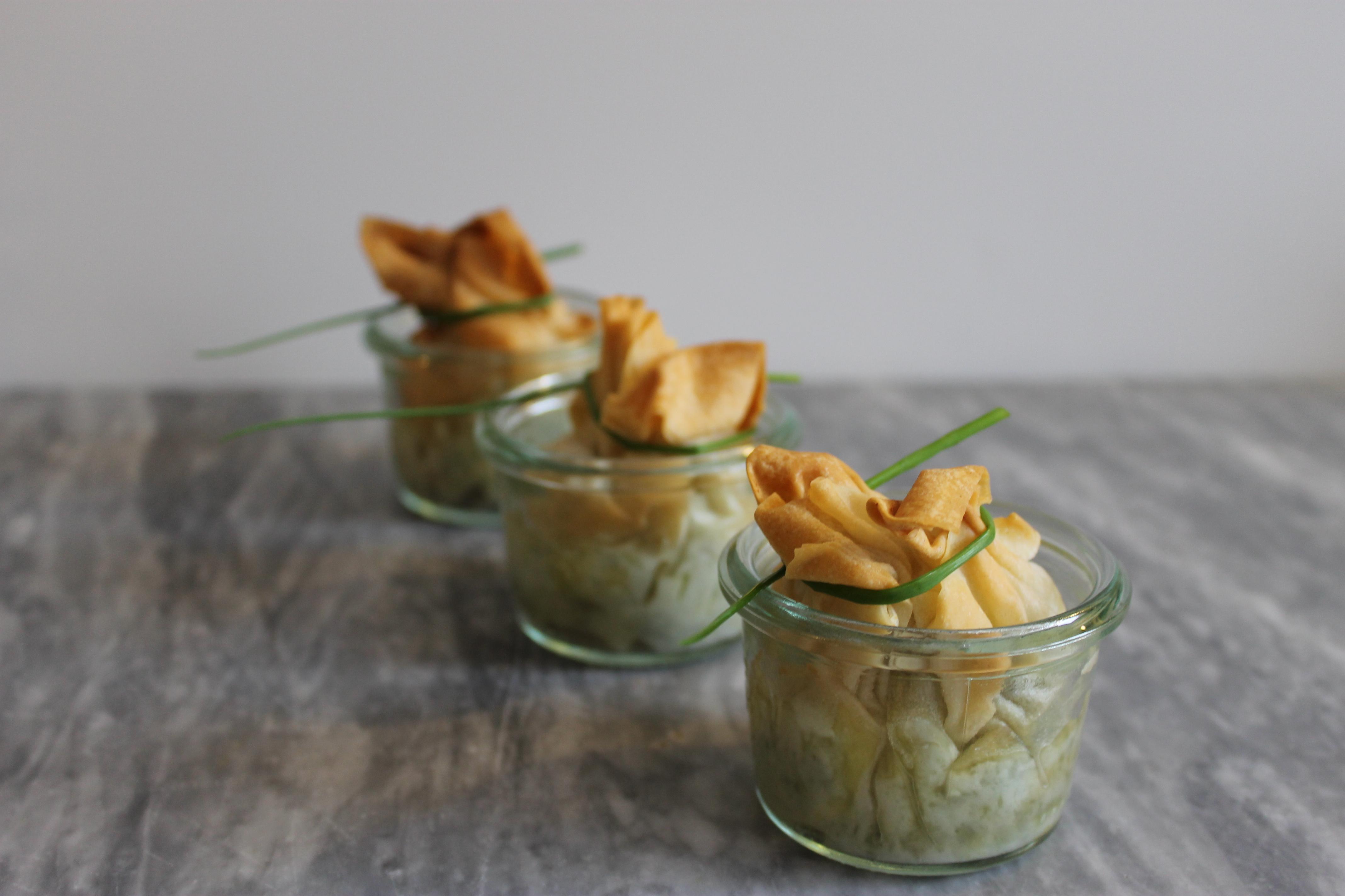 Spinat-Schafskäse-Päckchen