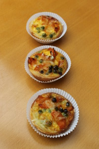 Mini-Gemüse-Quiche