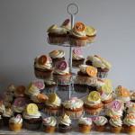 Cupcakes im Knopf-Design