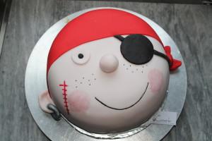 Pirat zum 2. Geburtstag