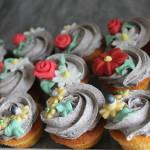 Blumencupcakes