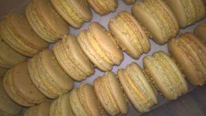 Macarons Pistazie